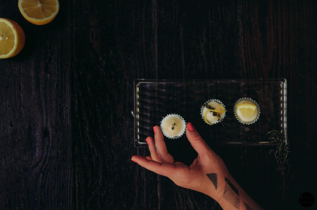 Zitronenmuffins Mit Thymian Syrupsyrupde